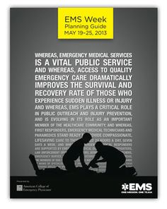 It's Nat'l EMS Week! HCPH honors EMS practitioners who serve Hamilton County & the world! #EverydayHeroes #EMS #SMEM