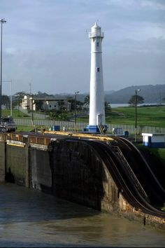 Panama Canal #Lighthouse, #Panama