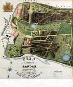 Une création | Domaine Royal de Randan Las Mercedes, Clermont Ferrand, Vintage World Maps, Creations, Volcanoes