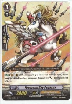 Thousand Ray Pegasus/Angel Feather