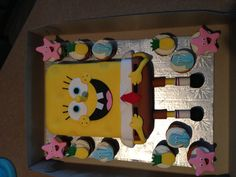 Spongebob square pants  Between the layer.  Sweets by Mandy betweenthelayerstreats@gmail.com