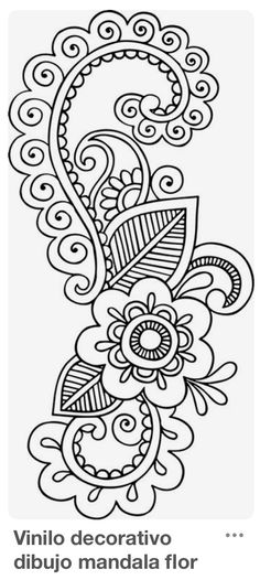 Grand Sewing Embroidery Designs At Home Ideas. Beauteous Finished Sewing Embroidery Designs At Home Ideas. Mandala Design, Mandala Art, Mandala Drawing, Mandala Doodle, Drawing Flowers, Mandala Coloring, Colouring Pages, Adult Coloring Pages, Coloring Books