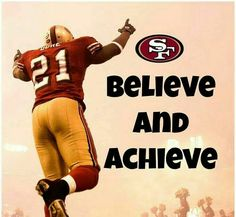 Good motto for life! Go Niners! Niners Girl, Sf Niners, Forty Niners, 49ers Players, 49ers Fans, Football Fans, Football Humor, 49ers Nation, Frank Gore