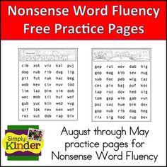 Fluency Folders for the Little Ones!