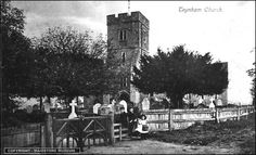 Teynham Churcch where I went bell ringing, attended Sunday services with my parents, was confirmed and married, My man is buried there with Mum and Dad
