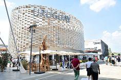 Uruguay pavilion  at Expo Milan 2015 #raiexpo #expo2015 #italy #milan #worldsfair #architecture #pavilion #uruguay