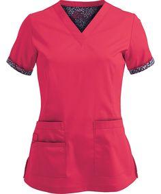 Maevn PrimaFlex Stretch Inner Beauty V-Neck Top, Maevn Scrubs Scrubs Outfit, Scrubs Uniform, Scrubs Pattern, Greys Anatomy Scrubs, Scrub Jackets, Medical Scrubs, Nurse Scrubs, Nursing Shoes, Cherokee Scrubs