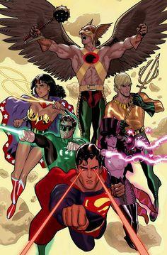 Justice League by Daniel Acuña