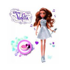 40% korting! Wil dochterlief net zo'n ster worden als Violetta? Met dit spetterende muziekpakket kan ze alvast voelen hoe het is om in de spotlight te staan. Met de microfoon met ingebouwde applaus- en geluidseffecten zet ze zo een echte show neer! #onlinedeals #deal #forthekids #violetta #disney