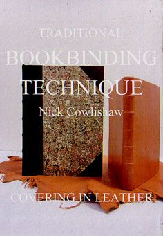 good bookbinding dvd video http://www.edenworkshops.com/Nick_Cowlishaw.html