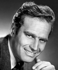Charlton Heston . . . . Special man.