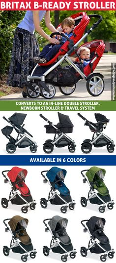 Britax B-Ready Stroller in-depth review. Take a look at one of the best convertible baby strollers out there for babies up to 55 lbs.