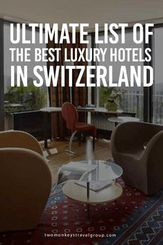 Ultimate List of The Best Luxury Hotels in Switzerland This article compiled the Best Luxury Hotels in Switzerland – Best Luxury Hotels in Zurich, Best Luxury Hotels in Geneva, Best Luxury Hotels in Bern, Best Luxury Hotels in Lausanne, Best Luxury Hotels in Lucerne, and Best Luxury Hotels in Ticino Region.  Resting in the middle of the Alps, Switzerland can undoubtedly give you perfect scenery of hiking and skiing paradise in all angles.