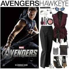 [Outfits inspired by The Avengers] AVENGERS Ensemble | Hawkeye, created by leighanned on Polyvore