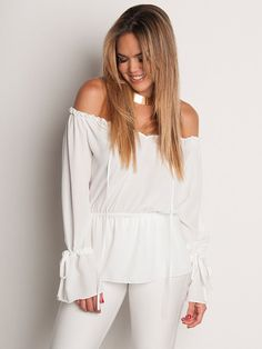 April, Blusa Off Shoulder