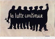 La lutte continue, 1968