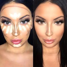 Contour lines appear to be tricky and complex. Yet, if you have a proper, detailed guidance at hand there is nothing impossible. It happens so that we have what you need and we are more than happy to share it with you! Create than flawless look all the celebrities sport in no time with our useful tips and tricks!