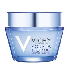 Vichy Aqualia Thermal Mineral Water Gel: A hydrating gel moisturizer that will lock in 48 hours of hydration for hydrated and more radiant skin. Safe for sensitive skin. Homemade Face Moisturizer, Natural Face Moisturizer, Anti Aging Moisturizer, Moisturizer For Dry Skin, Cream For Oily Skin, Aqua, Hydrating Serum, Best Face Products, Beauty Products