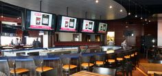 Have fun while watch all the sporting games at the Texans Grille in City Centre