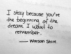 Warsan Shire.