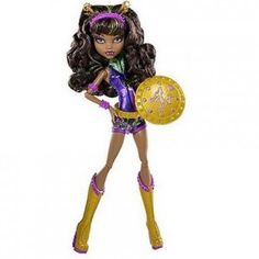 Power Ghouls Clawdeen Wolf Doll