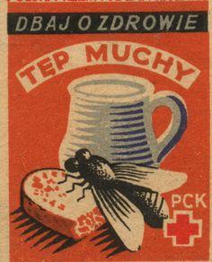 Plakat z epoki PRL