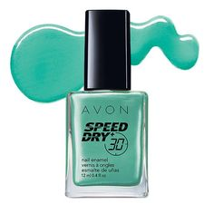 Speed Dry+ Nail Enamel, dries in less than 30 seconds! Regularly $6.00. Shop Avon Cosmetics online with Marie Ontiveros @ www.youravon.com/mtalonzosbeautifullife