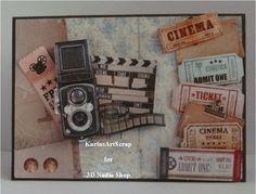 Vintage card  / Men