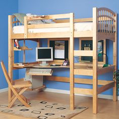 Found it at Wayfair - Mckenzie Loft Bed with Ladder