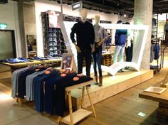 "LEVIS 501 CT (Custom Tapered), London, England,""IN-STORE"", pinned by Ton van der Veer"
