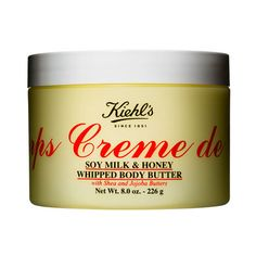 Creme De Corps Soy Milk and Honey Whipped Body Butter Moisturizer from Kiehl's Since 1851