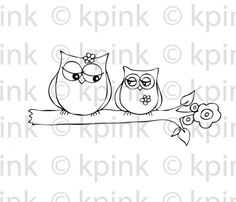 sister owls... by Kristenpowersink