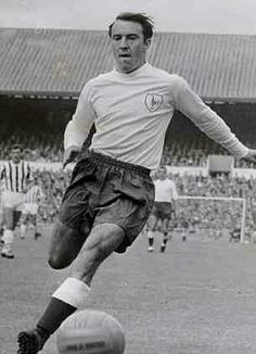 Jimmy Greaves of Tottenham Hotspur in 1962.