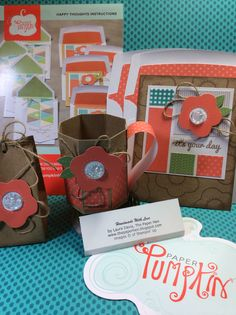 I have been wanting to make this mug!! What a great alternate project. The Paper Hen: Stampin Up Paper Pumpkin June 2015 Alternative Kit Projects