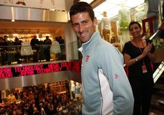 Novak Djokovic, Uniqlo, entrevue, collection sport, affaires sport, Uniqlo France Facebook Roland Garros 2013