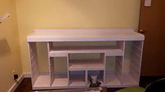 My Ikea Hack- Trofast storage units with countertops. Work in progress 7/23/15