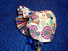 Infant Baby Bonnet Paisley by AdorableandCute on Etsy, $24.00