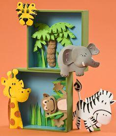 Cuadros de la selva: decora la habitación de tu hijo con fomi