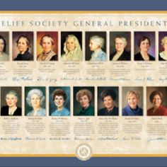 """The Presidents of Relief Society  Get Relief Society Ideas at - www.MormonLink.com  """"I cannot believe how many LDS resources I found... It's about time someone thought of this!""""   - MormonLink.com"""