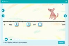 Number and Operations in Base Ten - Skip counting for grade 3