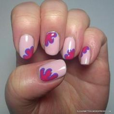 new Ideas pink manicure ideas classy black white Black Dot Nails, Purple Nails, Green Nails, Funky Nails, Love Nails, Trendy Nails, Gel French Manicure, Manicure And Pedicure, Manicure Ideas