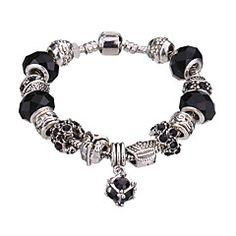 Rannekorut Amuletti-rannekorut / Rannerenkaat / Strand Rannekorut / Silver Bracelets Metalliseos / Akryyli / Tekojalokivi / Hopeoitu