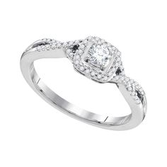 1-3CTW-Diamond BRIDAL RING