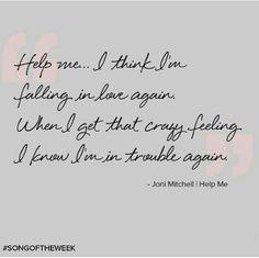 Joni Mitchell   Help Me