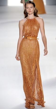 Ellie Saab spring 2012 collection...adore this color!