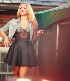 Demi Lovato. She may not be good live, but I just find her likable.
