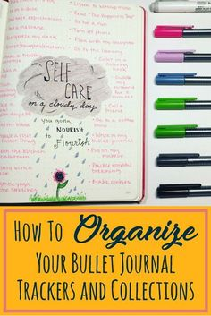 How to organize your bullet journal trackers and collections. Two fantastic tips that help optimize and organize any bullet journal! These ideas help make your bullet journal layouts even more efficient! Excellent advice if you want to know how to start a Bullet Journal Tracker, Bullet Journal Hacks, Bullet Journal Printables, Bullet Journal How To Start A, Journal Template, Bullet Journal Spread, Bullet Journal Layout, Bullet Journal Inspiration, Bullet Journals