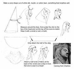 12th century headdress.