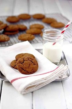 The BEST molasses cookie recipe I've ever had! Soft and Chewy Molasses Spice Cookies