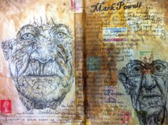 artists sketchbook page colour swatch - Google Search
